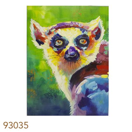 -quadro pintura de marsupial 120x90x4cm