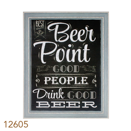 tela impressa c mold beer point  50x40x3,5cm