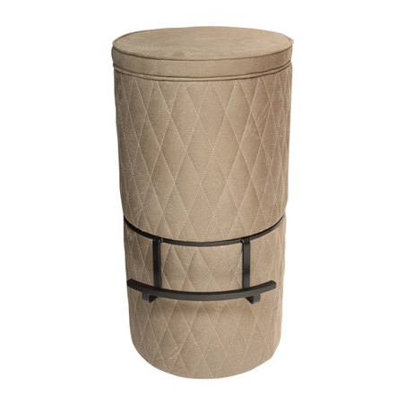 banqueta drum pu fendy g 80x44x44cm