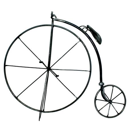 escultura bike retro g 44x51x12cm