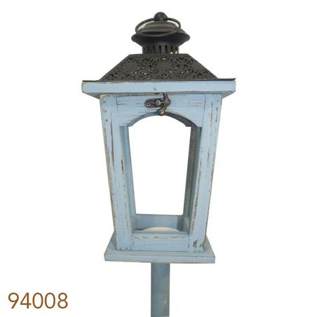 lanterna chao azul/preta  141x17x17cm