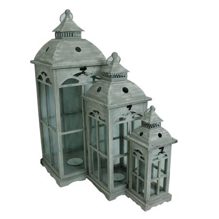 lanterna cj 3pc branca metal 90x32x32cm