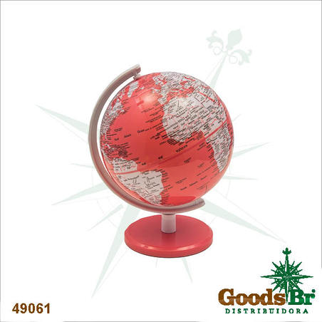 -globo pink pequeno  17x14x13cm