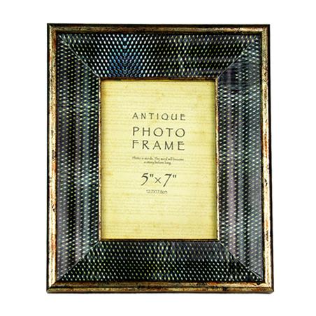 porta retrato  pu preto 13x18 29x24x4cm
