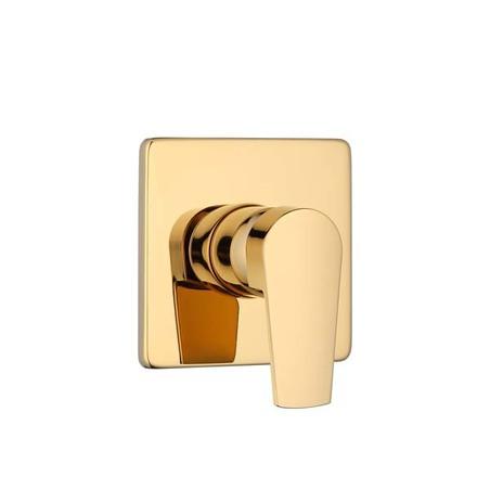 acabamento monocomando chuveiro dourado