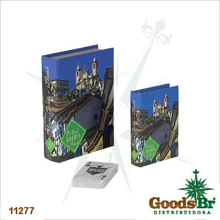 -book box cj 2pc minas gerais  20x14x4cm