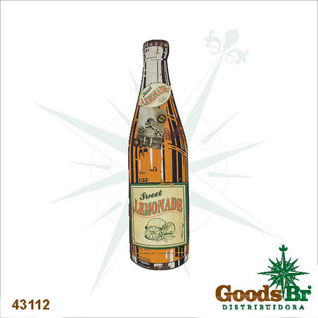 -garrafa recads orange 87x23x6cm