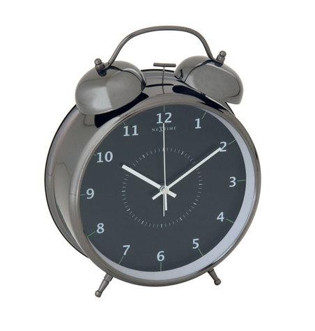relogio mesa despertador blacknextime 30x23cm