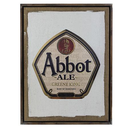 quadro linho abbot ale  60x80x4cm