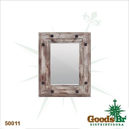 espelho antique brown  92x72x10cm