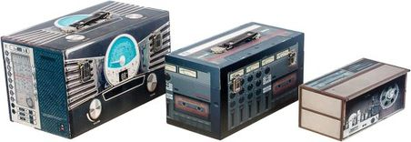 -maletas cj3 pcs radio design  37x20x21cm