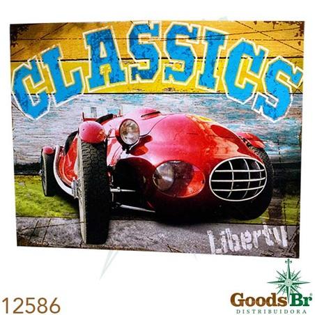 -tela impresssa red car liberty classics  80x100x4cm
