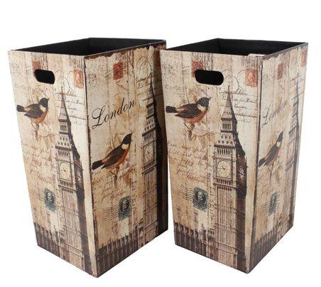 -porta objs/lix cj 2pc bird bigben  58x30x30cm