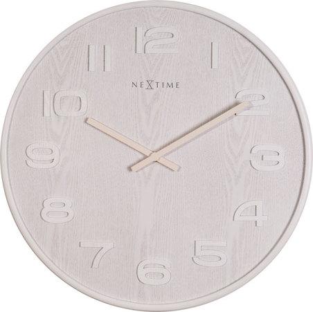 relogio parede white nextime d=53cm