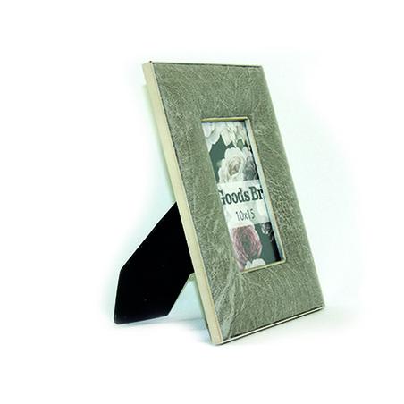 porta retrato 10x15 quadrado pu fendi 24x18x2cm