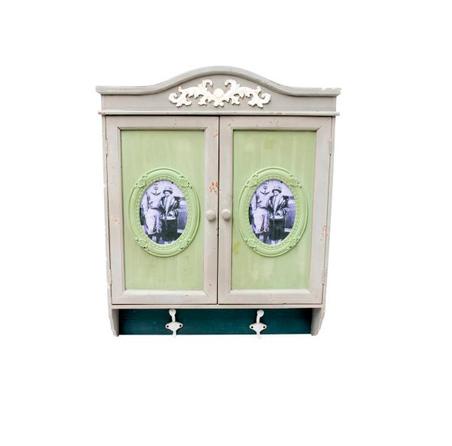 -armario parede ganchos e p.retrato  69x56x12cm