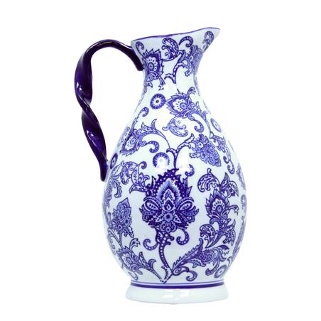 jarro de porcelana  36x22x19cm