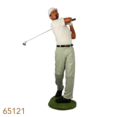-escultura golfista masc gg 90x53x29cm
