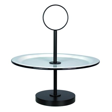 fruteira de mesa prato bolo pbranca 36x33x33cm