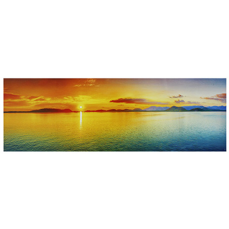 -tela impressa island sunset 50x150x3cm