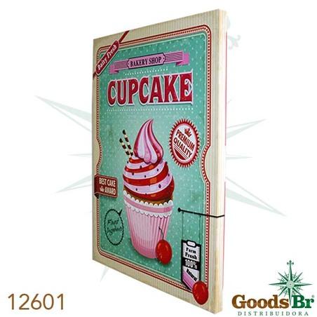 -tela impressa cup cake cereja 70x50x3cm