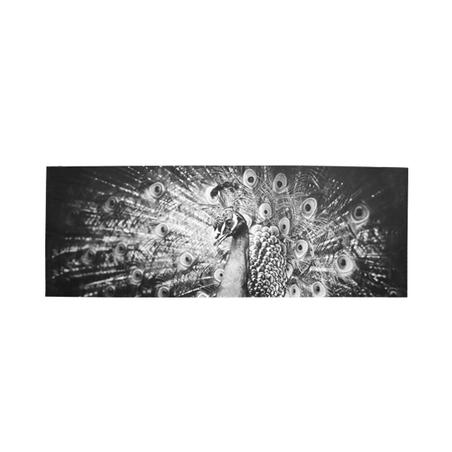 tela impressa pavao 70x195x4cm