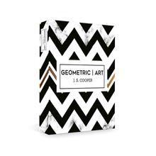BOOK BOX GEROMETRIC ART 30x24x4CM
