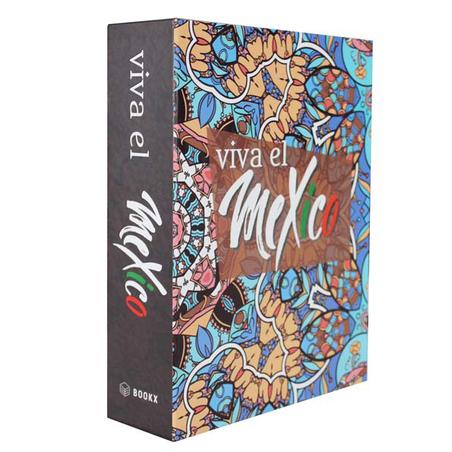 book box mexico 26x20x7cm