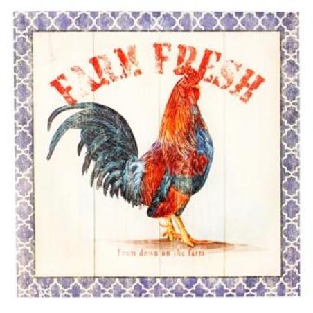 -tela impressa farm fresh  28x28x4cm