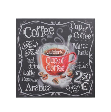 tela impressa cup of cofee60x60x3cm