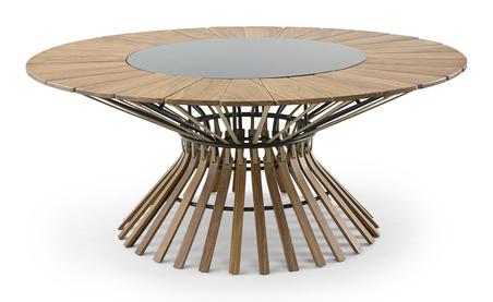 mesa de jantar morocco fixa 180x75x180cm