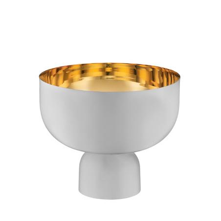 cachepot boreal grande revestimento interno ouro