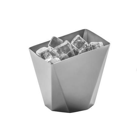 balde para gelo origami inox 12x11,5x11cm
