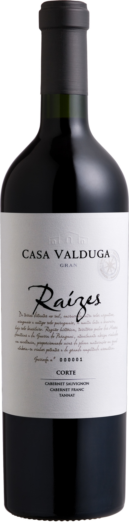 vinho gran reserva - raizes corte gf 750ml