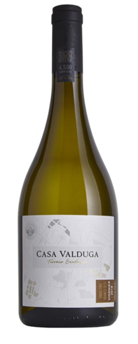 vinho terroir exclusivo viognier branco seco 750ml