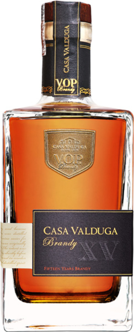 vinho brandy 15 anos 700ml - gfa