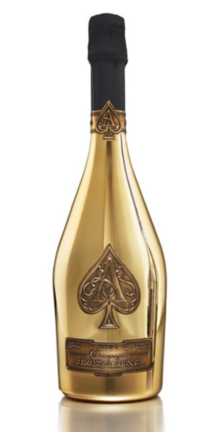 champagne - armand de brignac- gold