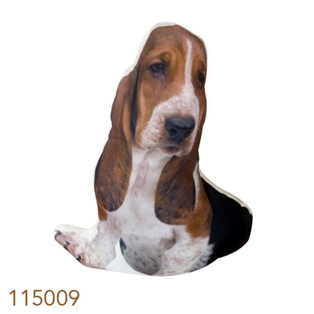 -almofada beagle  33x20cm 33x20x10cm