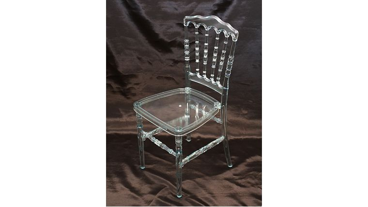 Picture of a Clear Resin Versailles Chair  sc 1 st  Goodshuffle.com & Clear Resin Versailles Chair rentals online - $12/day
