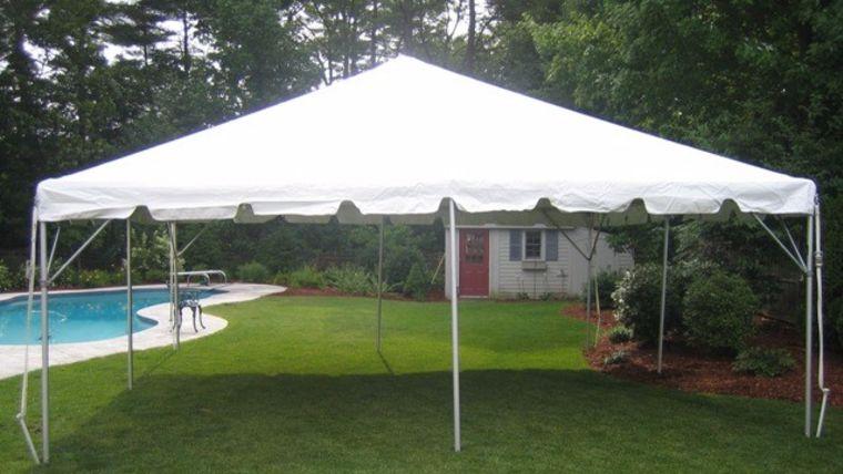 Picture of a 20u0027 x 20u0027 Frame Tent & 20u0027 x 20u0027 Frame Tent rentals online - $400/day