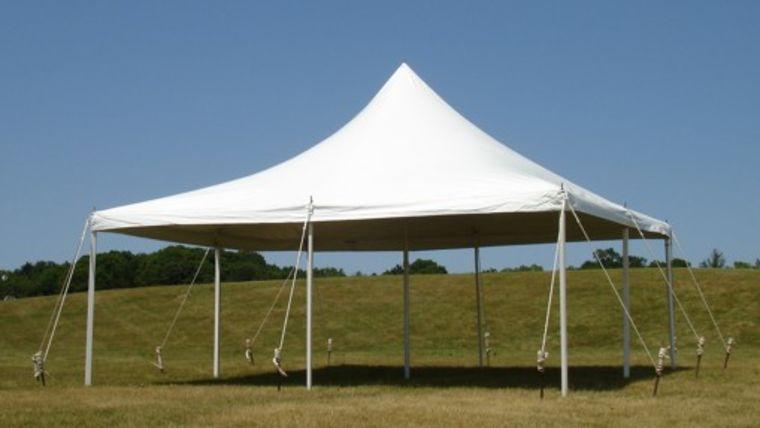 Picture of a 20u0027 x 20u0027 Pole Tent & 20u0027 x 20u0027 Pole Tent rentals online - $400/day