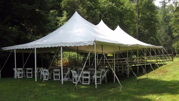 Picture of a 30u0027 x 60u0027 Pole Tent & 30u0027 x 60u0027 Pole Tent rentals online - $1400/day