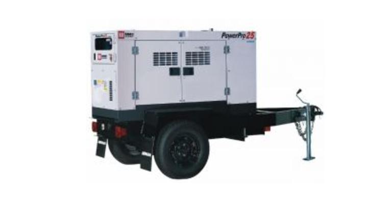 Mmd Powerpro 25 Tow Behind Generator Rentals Online 225 Day