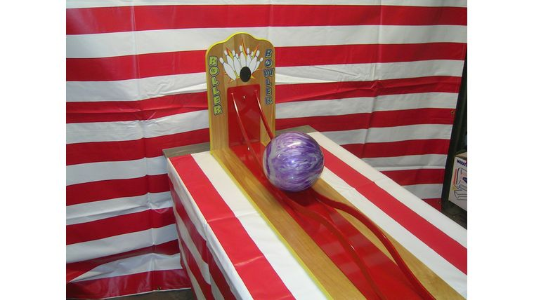Image of a Rowler Bowler : Carnival Game
