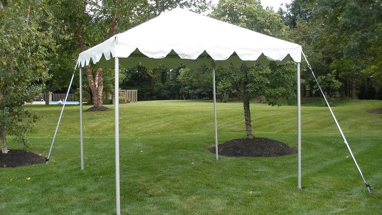 Picture of a 10u0027 x 10u0027 Marquee Tent & 10u0027 x 10u0027 Marquee Tent rentals online - $125/day