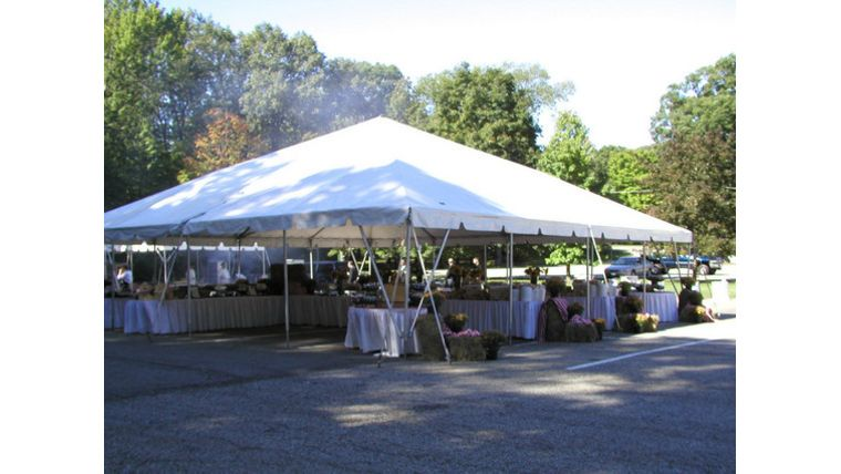 Picture of a 40 x 40u0027 Commercial Tent  sc 1 st  Goodshuffle.com : commercial tents - memphite.com