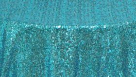 Image of a Aqua Sequin Pillowcases