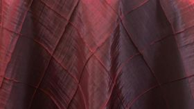 Image of a Burgundy Pintuck Pillowcases