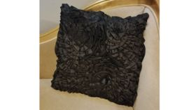Image of a Black Rose Pillows
