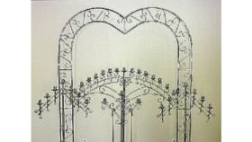 Image of a Silver Arch